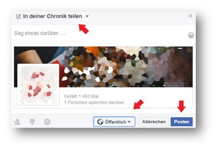 Facebook Chronik